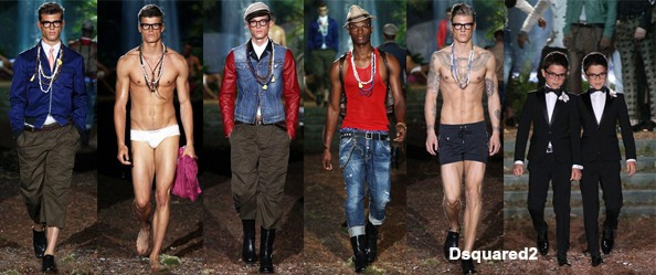 DSquared2 with words
