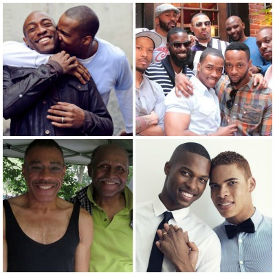 Gay Black Men Collage
